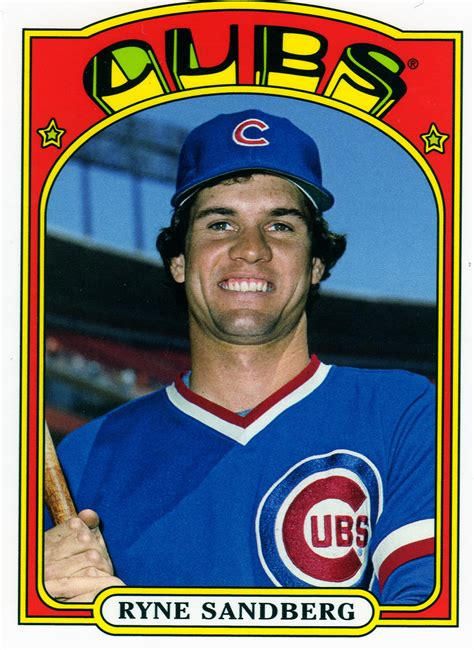 Baseball Gift Card - topps archive baseball card set retro fun bleed cubbie blue
