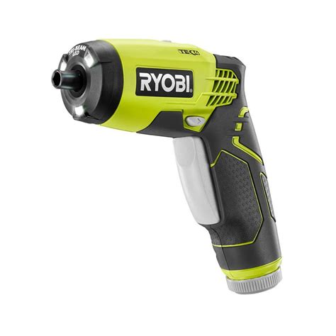 ryobi 4 volt lithium ion screwdriver kit hp54l the home