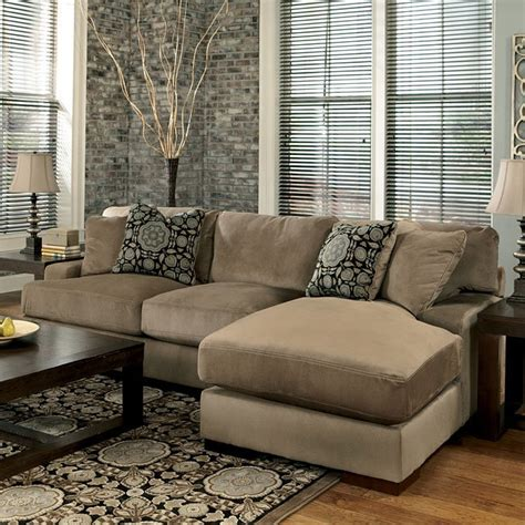 grenada mocha large sectional living room set millennium grenada mocha right chaise small sectional signature