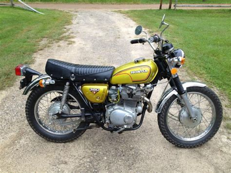 1972 honda cl350 honda cl350 1972 from timbo file gold 1972 honda cl350 scrambler for sale