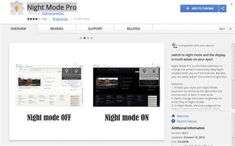 chrome night mode cara menggunakan google chrome dengan night mode