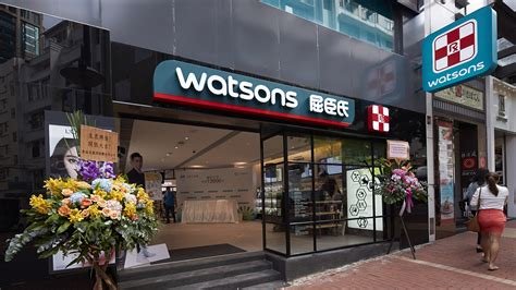 Shoo Watsons a s watson to invest hk 620m in retail drive in hong kong