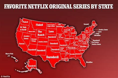 the most popular tv show in each state mental floss top netflix shows by state shows californians prefer