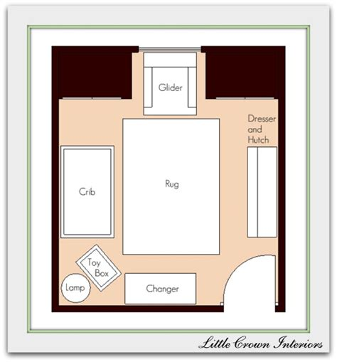 nursery floor plans nautical theme nursery inspiration