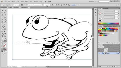 illustrator draw undo digital illustration tracing line art in illustrator