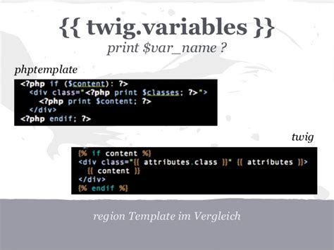 twig template variables drupal und twig