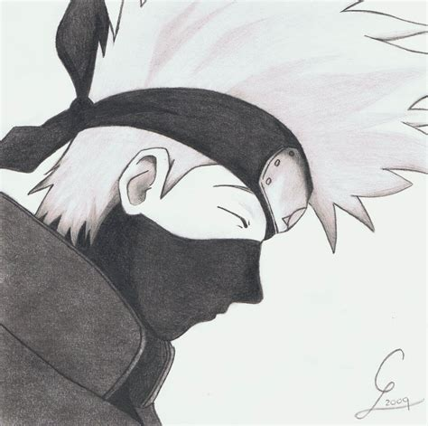Drawing Kakashi by How To Draw Hatake Kakashi