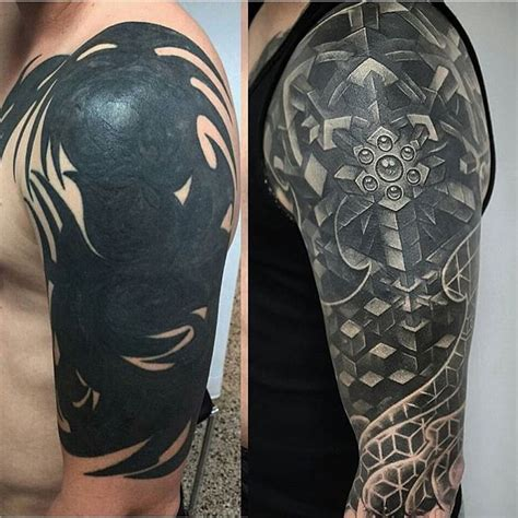 big cover up tattoos best 25 tribal cover up ideas on side