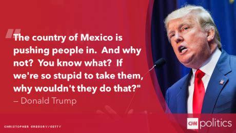 donald trump quotes immigration donald trump quotes on mexicans quotesgram