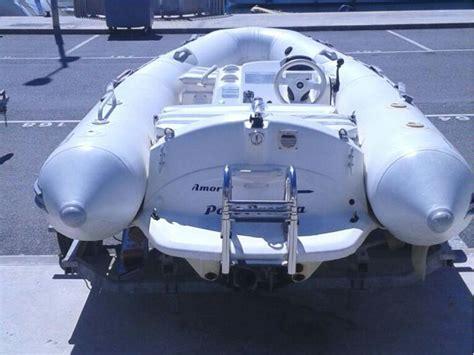 zodiac jet boat zodiac 350 jet rib in marina port premi 224 inflatable