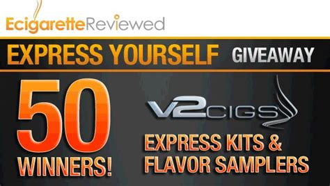 Express Giveaway - winners of the v2 cigs express yourself giveaway week 4 4