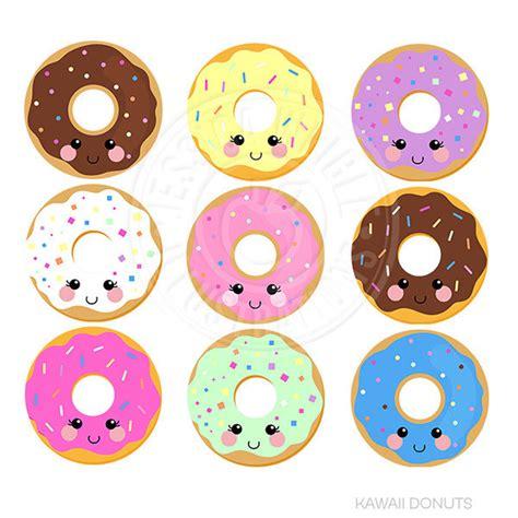 cute donut pictures kawaii donuts cute digital clipart donut clipart donut