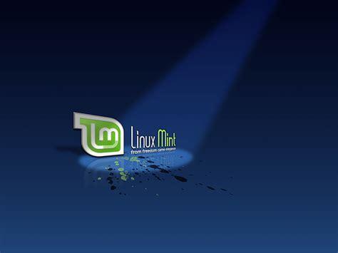 Linux Mint Blue Wallpaper