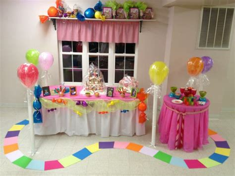 candyland theme decorations candyland themed kid s birthday