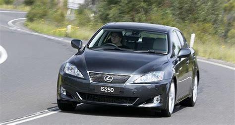 2009 lexus is 250 recalls lexus is is250 sedan range lexus to recall 4844 is250s