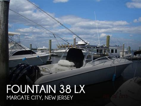 boats for sale margate nj sold fountain 38 lx boat in margate nj 084849