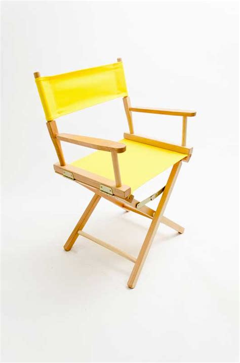 yellow directors chair gold medal directors chair contemporary 18