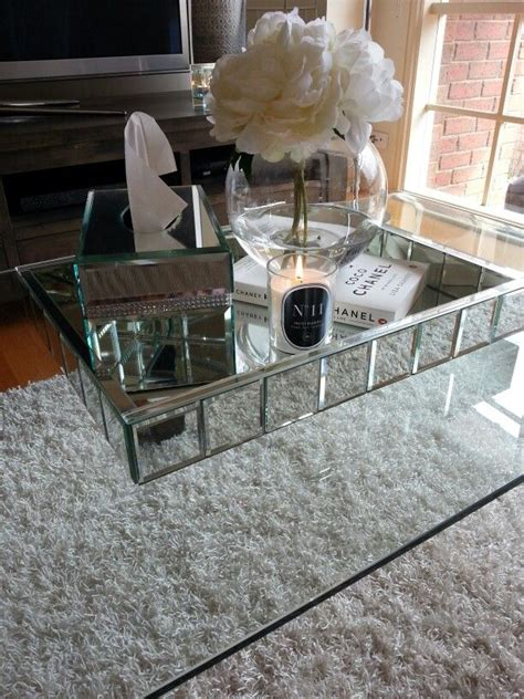 glass and mirror coffee table best 25 mirror tray ideas on mirror near