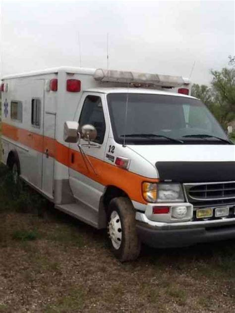 1997 ford e350 ambulance for auction municibid ford e350 1997 emergency fire trucks
