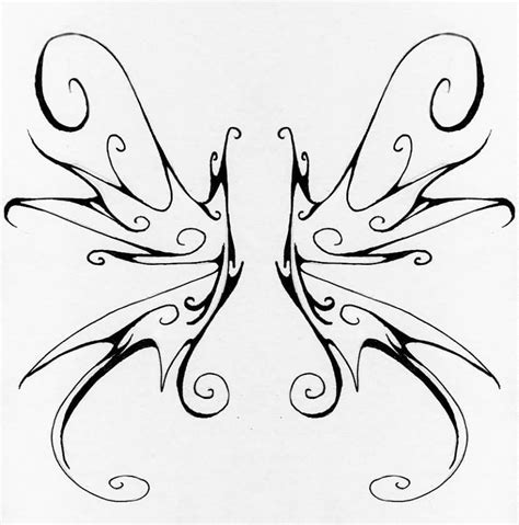 fairy wings tattoo designs 54 wings tattoos ideas