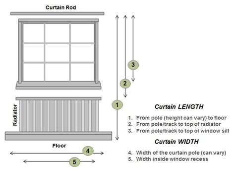 how high should curtain rods be above window installing curtains where do i hang them home tips for