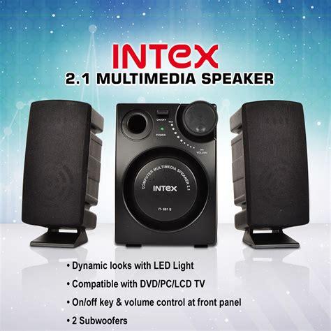 buy intex  multimedia speakers    price