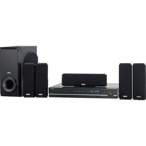 rca 5 1 channel single disc home theater system 250w