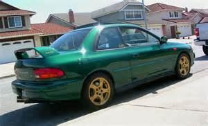 98 Subaru Impreza 10 Of The Rarest Subarus Subienews