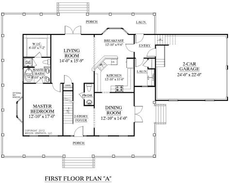 2 House Plans With Floor Master 2018 House