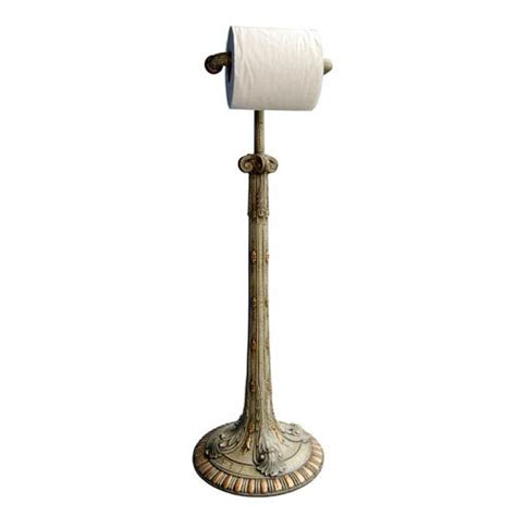 toilet paper holder free standing unique bamboo bathroom