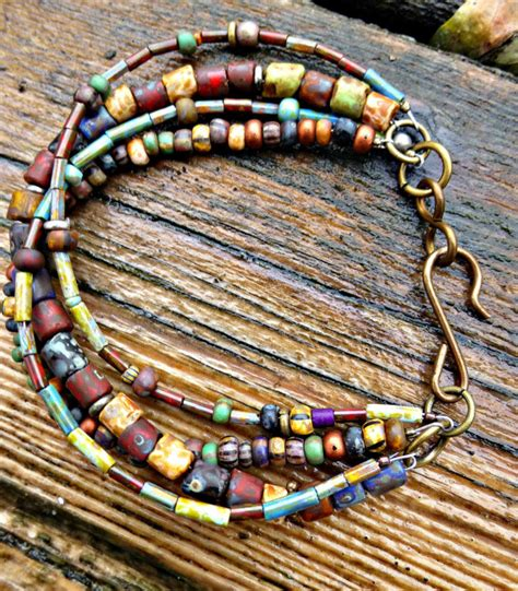 how to make bohemian jewelry customization multi strand bohemian hippie bracelet