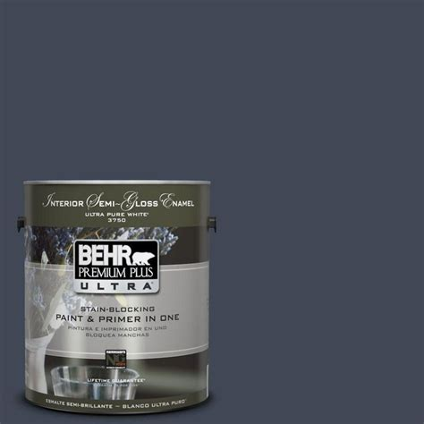 behr premium plus ultra paint 1 gal ppu14 20 starless semi g