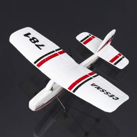 Cessna Tw 781 Micro Mini Infrared Easy Indoor Rc Epo Gilder cessna tw 781 micro radio airplane indoor rc plane