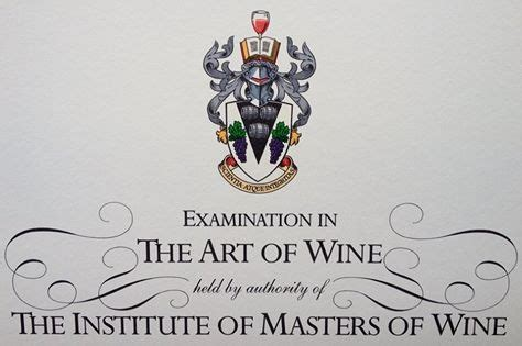 The Beginnings Of A Master Master Of Wine End Of A Journey And Beginning Of A New