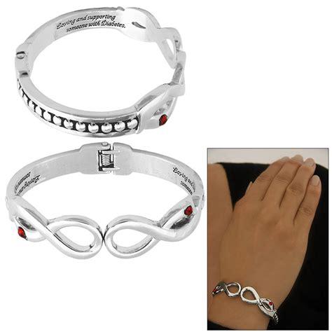 loving supporting diabetes ribbon bracelet the animal