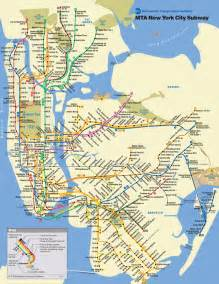 Metro Map New York by New York City Subway Map