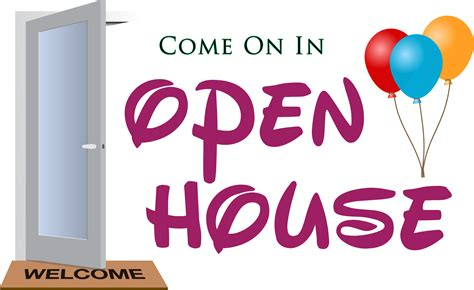 open house clipart open house