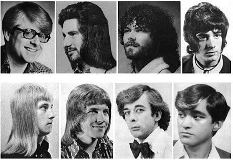 bad hair styles of the 70s a collection of men s hairstyles from the 1970s neatorama
