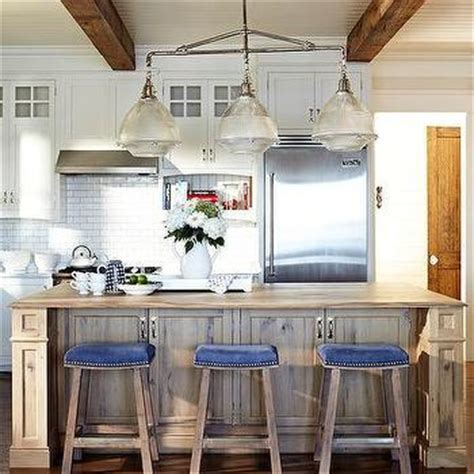 light blue kitchen bar stools ivory kitchen island with blue nailhead counter stools