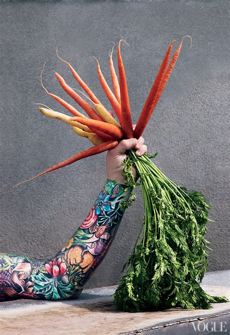 sean brock tattoo brock s tattoos appear in vogue july issue photo