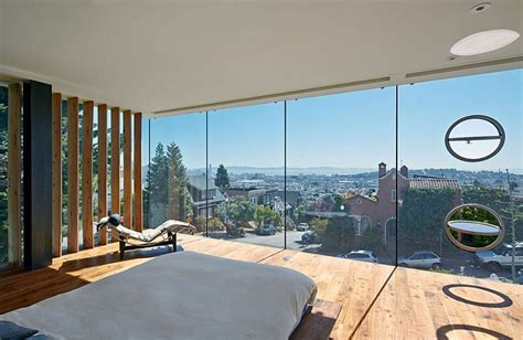 bedroom and more sf relaxed and minimal bedroom with unabated views of san