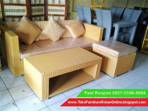 Kursi Sofa Rotan Sintetis sofa rotan ruang tamu jual kursi sofa rotan harga kursi sofa rotan industri pabrik toko