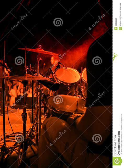 Drum Animal Concert drummer on concert royalty free stock images image 29939209
