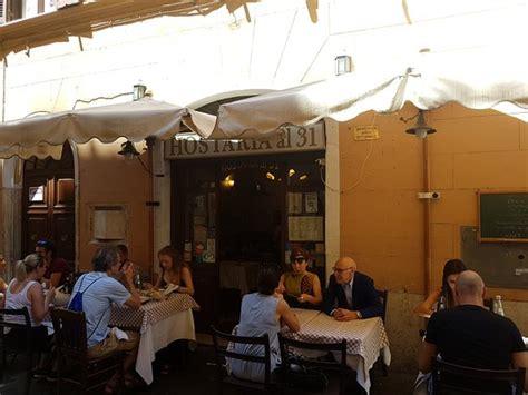 hotel via delle carrozze roma hostaria al 31 roma co marzio ristorante