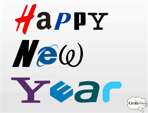 free happy new year logos design template for 2014 new year