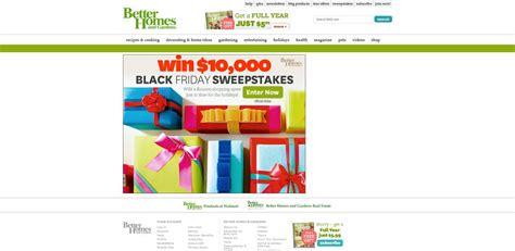 Bhg Black Friday Sweepstakes - bhg black friday sweepstakes