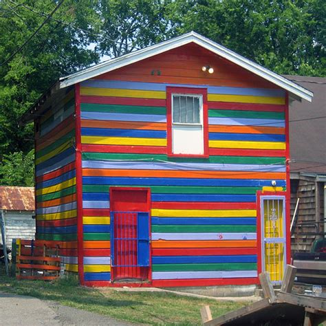 Rainbow House A Gallery On Flickr