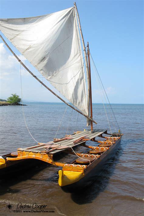 hawaiian word for boat wood catamaran