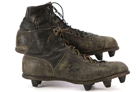 riddell football shoes lot detail 1929 43 earl curly lambeau green bay