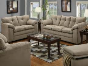 mineral microfiber sofa and loveseat set 6565 - Sofa And Loveseat Sets